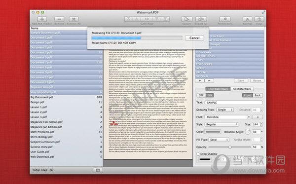 WatermarkPDF Mac版