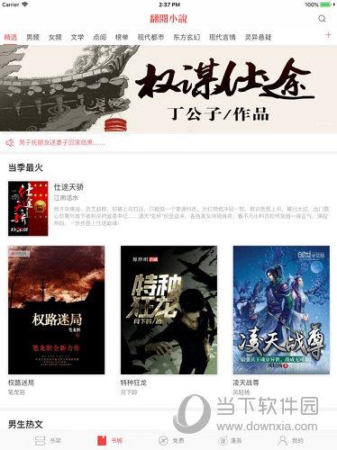 翻阅小说iPad版下载