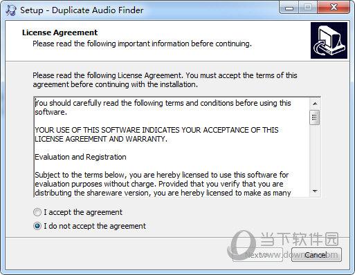 Duplicate Audio Finder