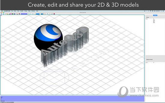 Autoq3d CAD for Mac