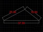 迅捷CAD编辑器画已知边长三角形方法 直线圆形工具帮你忙