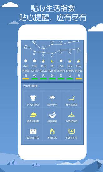 专业天气预报 V1.00 安卓版截图4