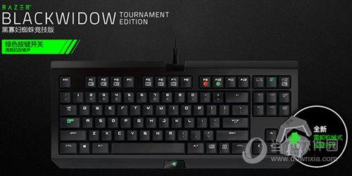 黑寡妇蜘蛛竞技版机械键盘驱动