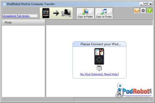 iPodRobot iPod to PC