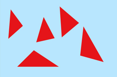 你的三角形就画好