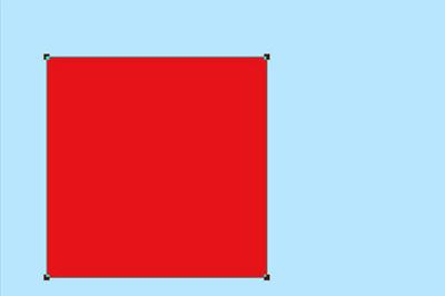 按SHIFT画一个正方形