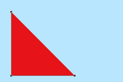 正方形变成三角形