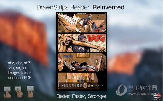 Drawnstrips Reader