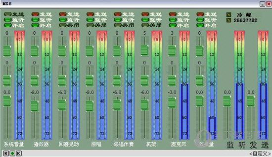 MX8调音台