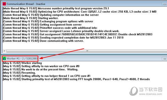 每一个Work区表示一个逻辑CPU核心