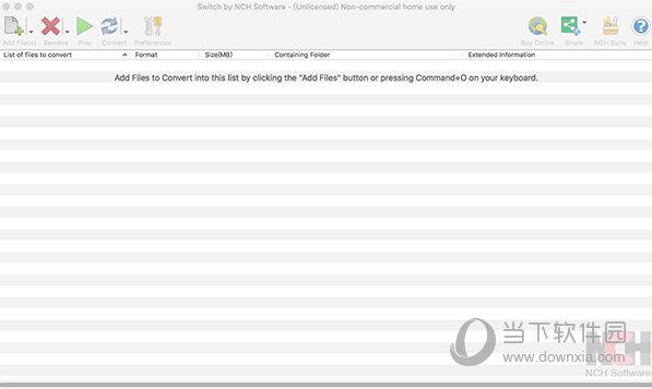 NCH Switch Mac版