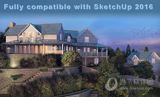 VRay for SketchUp 2016破解版