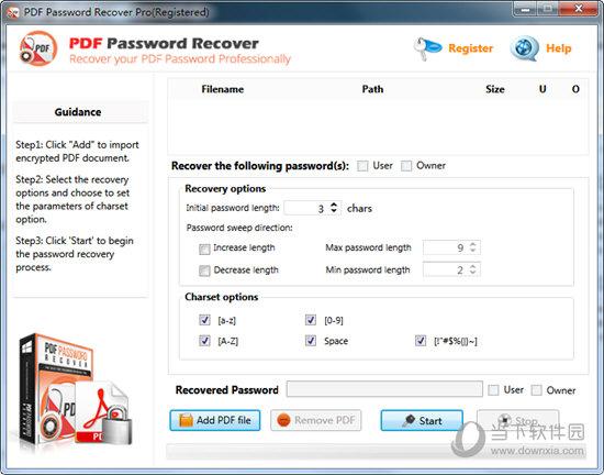 PDF Password Recovery Pro