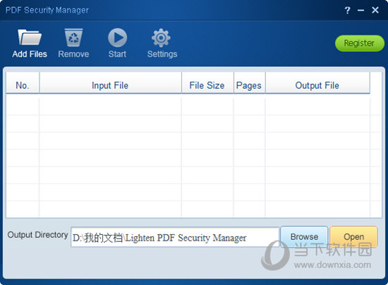 Lighten PDF Security Manager