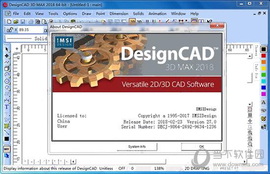 DesignCAD 3D Max 2018