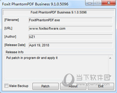 Foxit PhantomPDF注册机