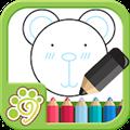 儿童涂鸦涂色画画板 V1.0 安卓版
