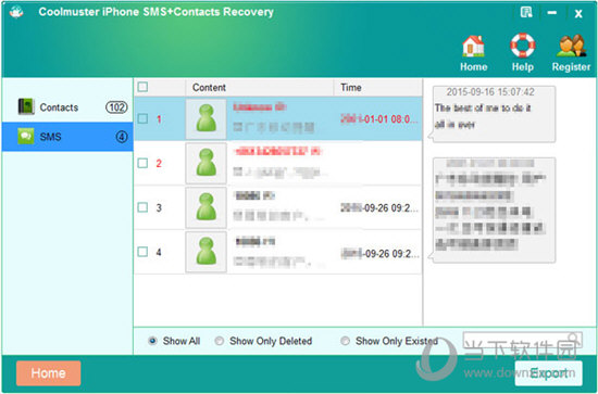 Coolmuster iPhone SMS+Contacts Recovery