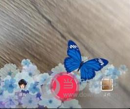 抖音视频里蝴蝶满天飞怎么拍