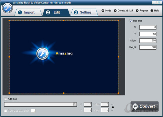 Amazing Flash to Video Converter