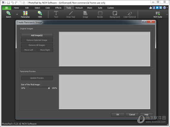 PhotoPad Image Editor