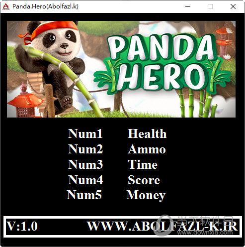 熊猫大侠五项修改器