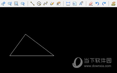 画完三角形
