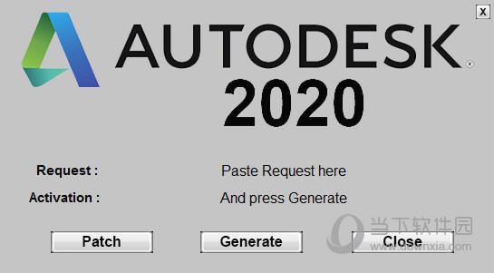 AutoCAD2020破解版注册机