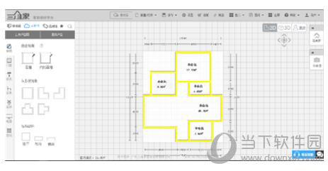 三维家3d云设计软件上传cad图方法教程3