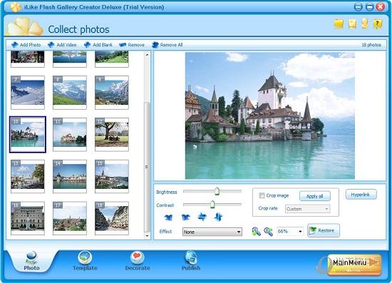 iLike Flash Gallery Creator Deluxe