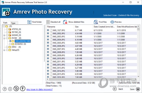 Amrev Photo Recovery