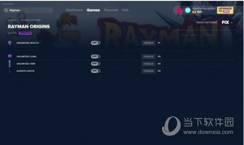 雷曼起源四项修改器