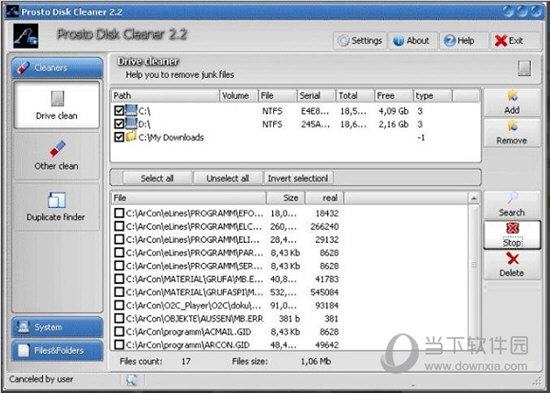 Prosto Disk Cleaner