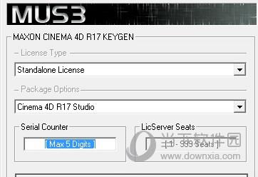 Cinema 4D R17注册机