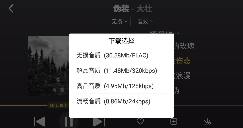 酷我车机版歌曲库不更新版 V4.5.0.0 纯净简约版截图3