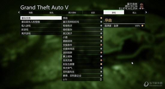 GTA5百分百完成度存档