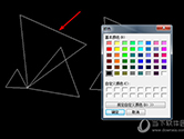 CAD迷你画图怎么填充颜色 设置图形颜色的方法