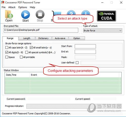 PDF Password Tuner