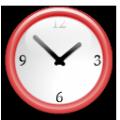 迷你桌面时钟 V1.3 绿色免费版