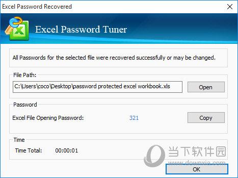 Cocosenor Excel Password Tuner