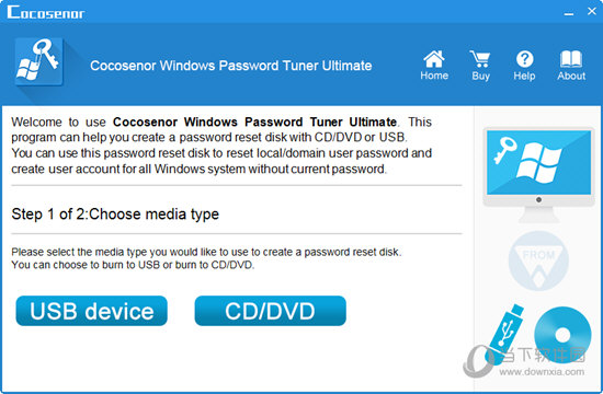 Cocosenor Windows Password Tuner