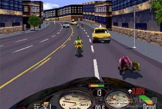 暴力摩托2008电脑版
