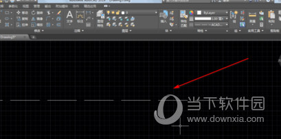 AutoCAD2019画虚线