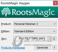 RootsMagic7注册机