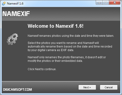 NameEXIF