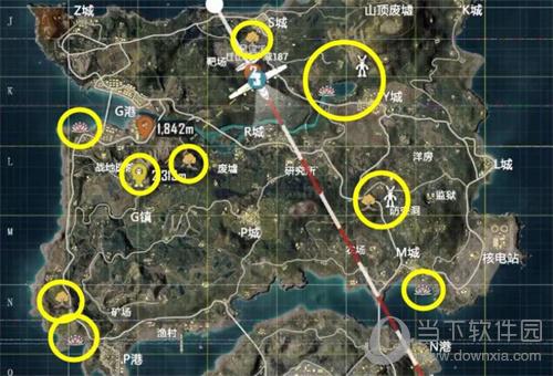 和平精英游戏地图截图
