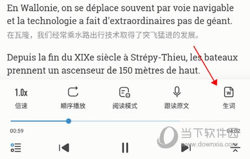 每日法语听力生词