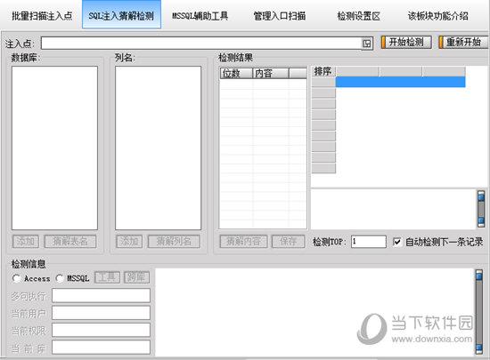 Domain4.3明小子注入工具