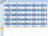 Excel怎么快速制作工资条 半分钟搞定