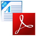 FoxPDF RTF转换成PD格式F转换器 V3.0 官方版